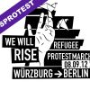 Refugeebusprotest