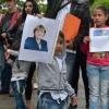 Kundgebung, Europaplatz Kiel 27.8.2015 Alle Roma bleiben hier!