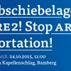 Demonstration Gegen Abschiebelager – Gegen ARE II BAMBERG: 24.10.2015