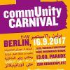 16. September – Antirassistische Parade / commUNITY-Carnival in Berlin
