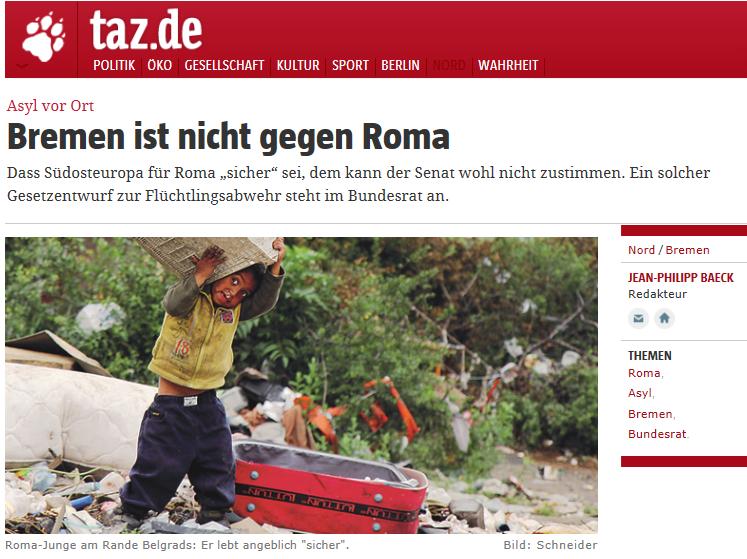 2014-06-10 13_51_45-Asyl vor Ort_ Bremen ist nicht gegen Roma - taz.de - Internet Explorer