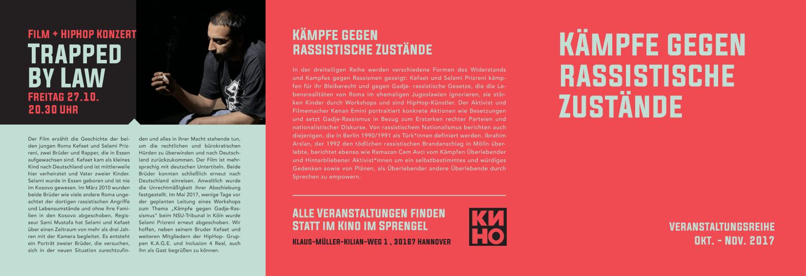 2017-09-30 20_18_52-Flyer Kämpfe gegen rassistische Zustände.pdf - PDF Studio Pro